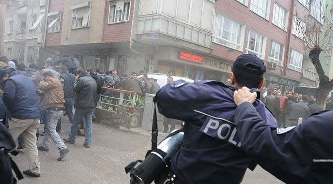 'Sık lan sık' diyen polise soruşturma