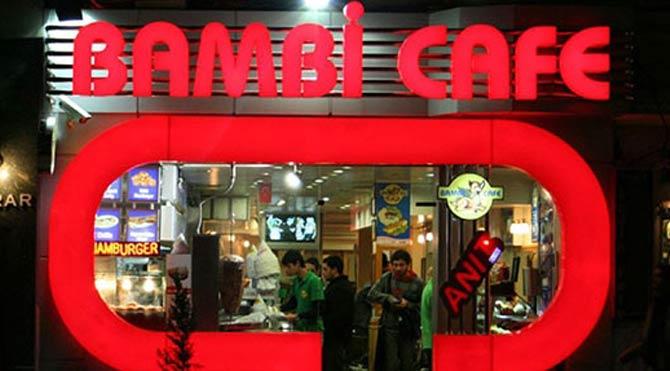 Bambi Cafe taciz için özür diledi