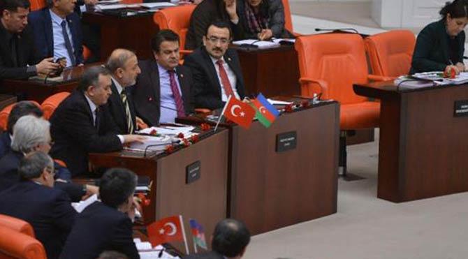 Meclis'te Hocalı katliamı kınandı