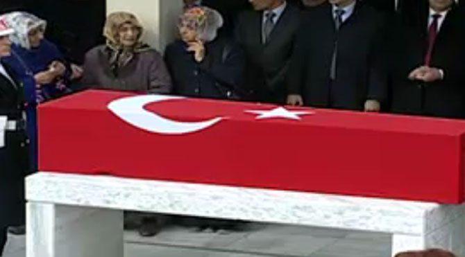 Erdoğan şehit cenazesine katılmadı!