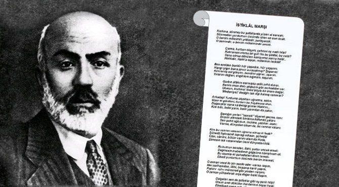 12 Mart İstiklal Marşı'nın Kabülü ve Mehmet Akif Ersoy'u anma günü
