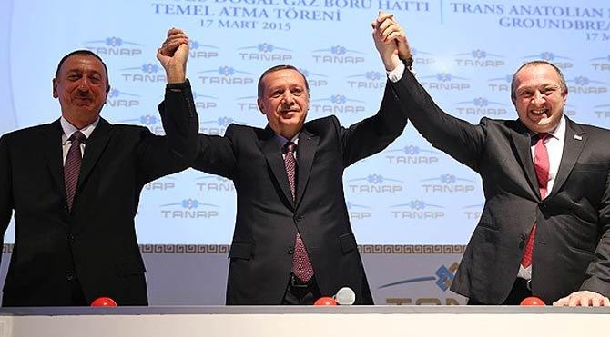"""""""Qərb TANAP-la qaz aldıqdan sonra Türkiyə-Azərbaycan həmrəyliyinin əhəmiyyətini başa düşəcək"""" - Ərdoğan"""