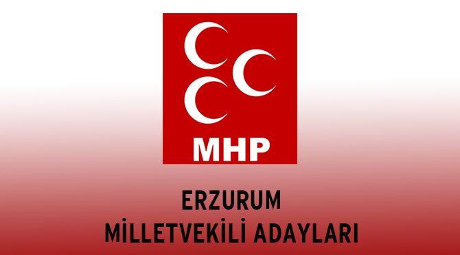 MHP Erzurum Milletvekili Adayları - Genel Seçim 2015