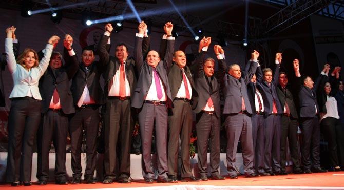 MHP Adana adaylarını tanıttı