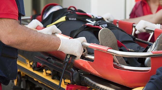 Ambulans yolculuğuyla dünya rekoru