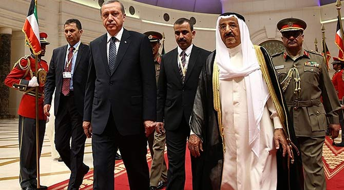 Cumhurbaşkanı Erdoğan Kuveyt'te!