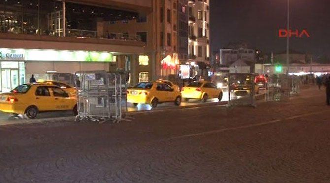 Taksim'de hayat normale döndü!
