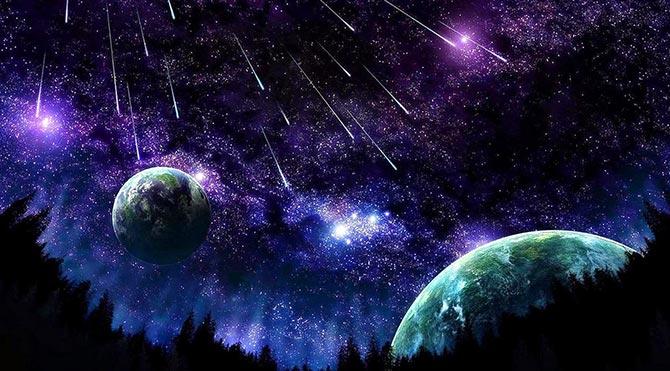Uzayda oluşan elmaslar