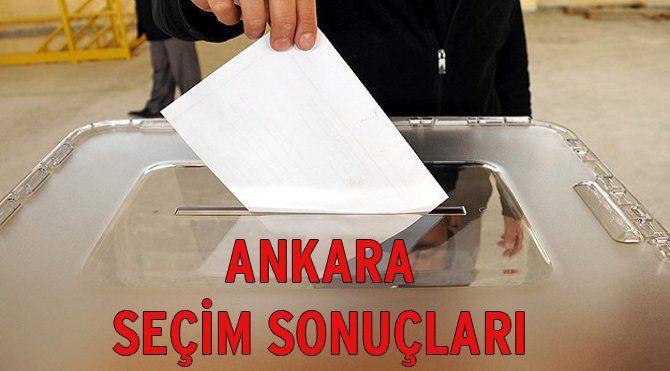Seçim Sonuçları 2015: Ankara seçim sonuçları belli oldu! (2. bölge)