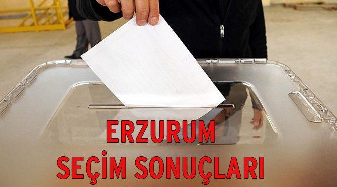 Erzurum seçim sonuçları açıklandı – 2015 Genel Seçim son durum