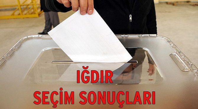 Iğdır seçim sonuçları açıklandı – 2015 Genel Seçim son durum