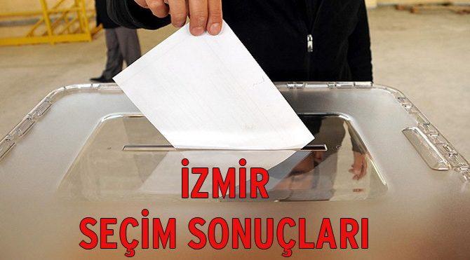 İzmir seçim sonuçları açıklandı (1. bölge) – 2015 Genel Seçim son durum