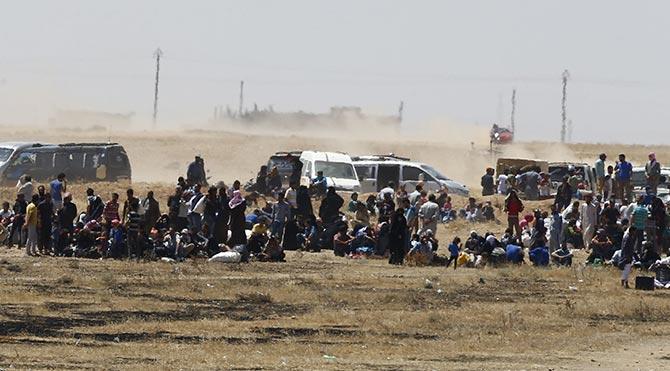 4 Günde 13 bin 500 Suriyeli giriş yaptı