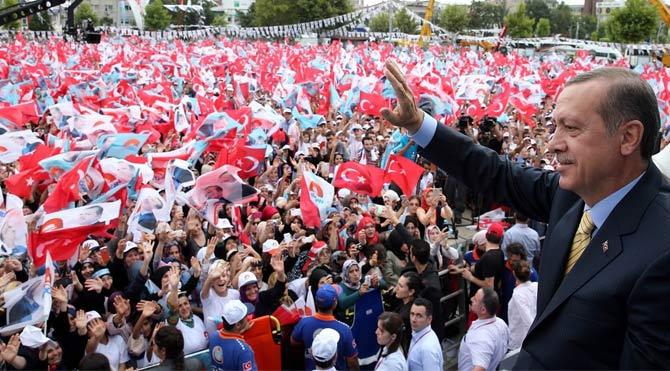 Nisanda 51.5 milyon TL olan örtülü ödenek harcaması, Erdoğan'ın seçim mitingleri yaptığı mayıs ayında 109.1 milyon TL'ye ulaştı.
