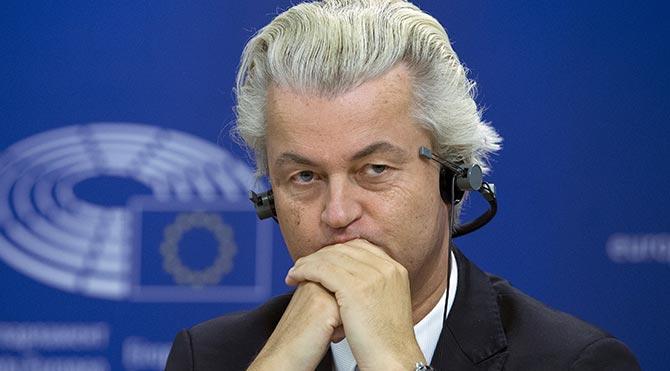 Müslümanlardan Wilders'a karikatürlü yanıt