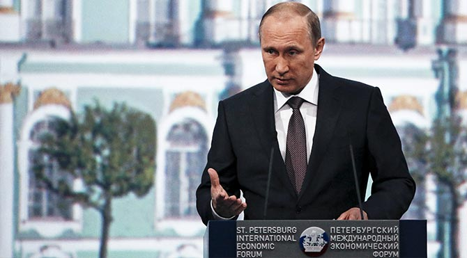Putin: Varlıklarımıza el konulmasına tepkisiz kalamayız