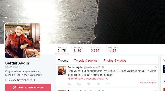 TRT müdüründen skandal tweetler