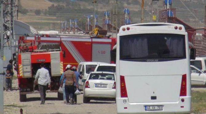 Çadır kentte yangın: 2 ölü