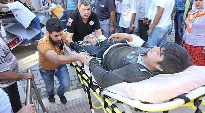 Yaralı 134 kişi Türkiye'de!