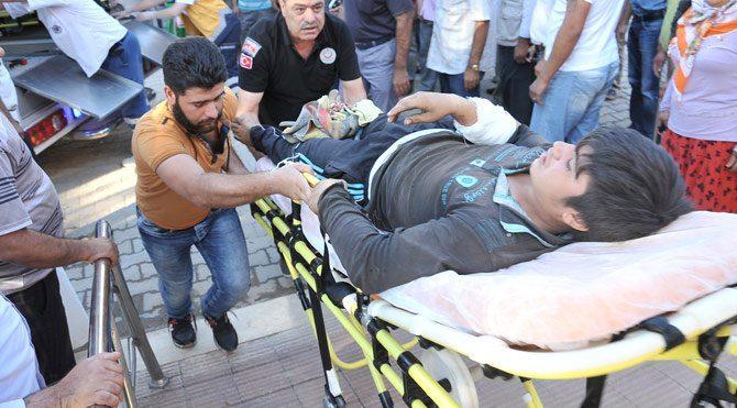 IŞİD Kobani'yi vurdu Telabyad'a dönüşler durdu