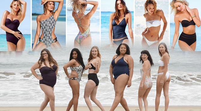 Sıradan kadınlar Victoria's Secret mankeni olursa