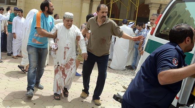 Kuveyt'te Şii camisine saldırı