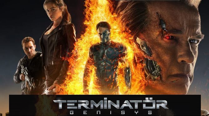 Terminatör 5 Yaradılış Vizyonda Arnold Terminator Genisys Ile