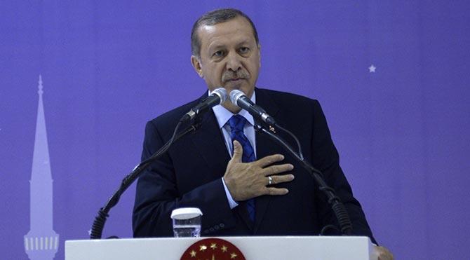 Erdoğan, Ensar Vakfı'nın iftar programında konuştu