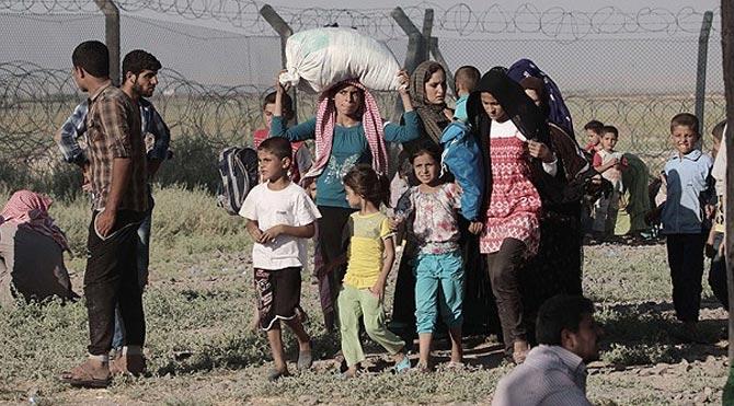 800 Suriyeli Türkiye'ye giriş yaptı