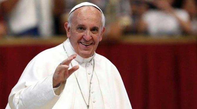 Papa'dan Yunanistan'a destek