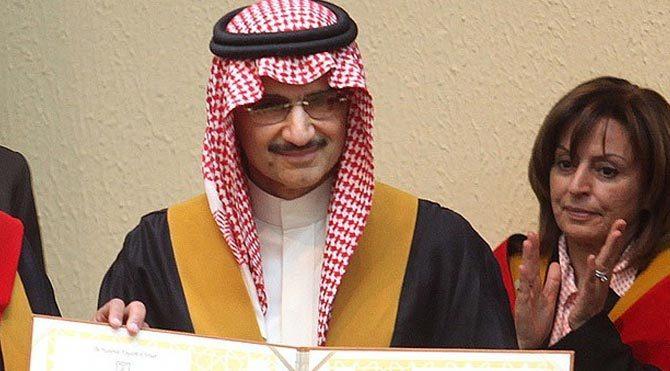 Suudi Prens servetini bağışlıyor