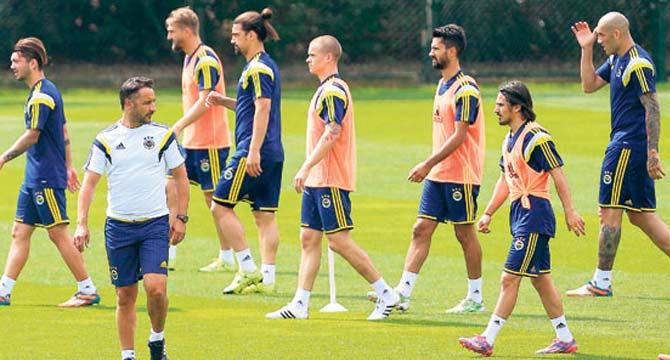 Fenerbahçe 2-1 Voluntari (Antrenman Maçı)