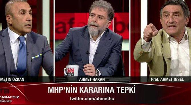 Ahmet İnsel'den Metin Özkan'a sert tepki