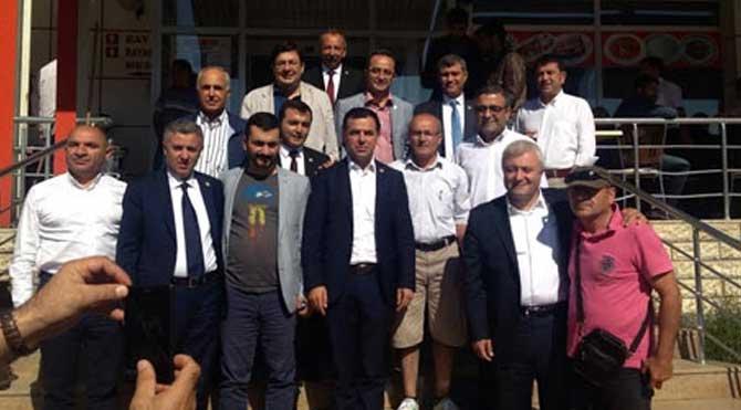CHP'li vekiller Sivas'ta