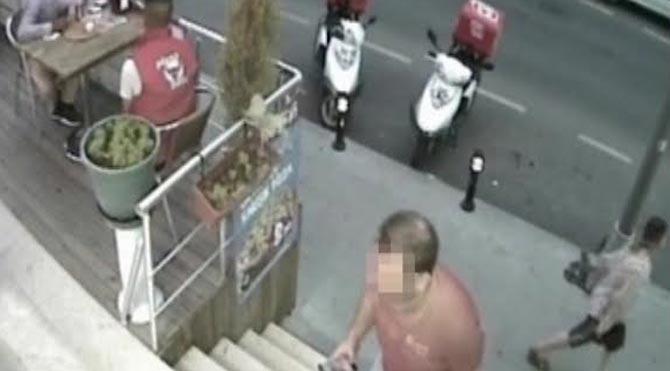 Hırsızları 'pizza keyfi' yakalattı