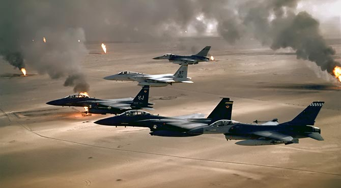 Koalisyondan IŞİD'e 'en büyük' hava saldırısı