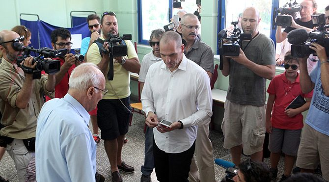 Yunanistan'da tarihi referandumdan 'Hayır' çıktı