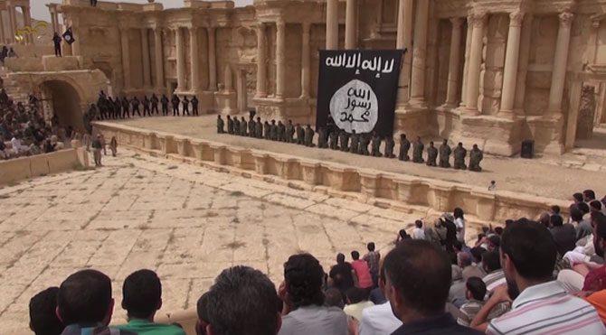 IŞİD'den antik kent Palmira'da katliam