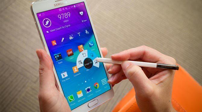 Galaxy Note 4 için Android 5.1.1 Lollipop güncellendi