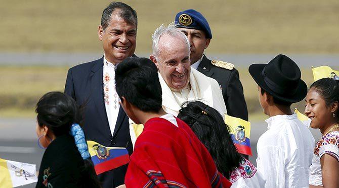 Papa, Latin Amerika turunda