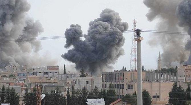 Rakka'ya IŞİD operasyonu