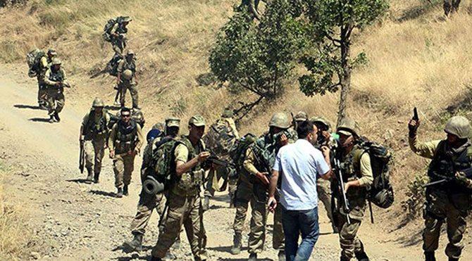 HDP Milletvekili ile askerler arasında gerginlik