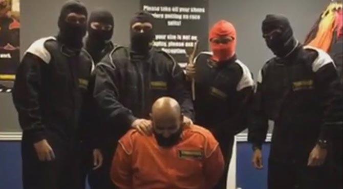 IŞİD videosu çekince kovuldular