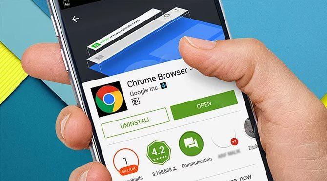 Chrome mobilde 1 milyara ula ştı Teknoloji.