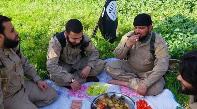 45 IŞİD militanı zehirli iftar yemeği nedeniyle öldü