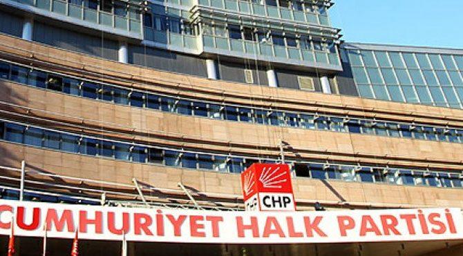 """CHP'den """"Savaşa Hayır"""" bildirisi"""