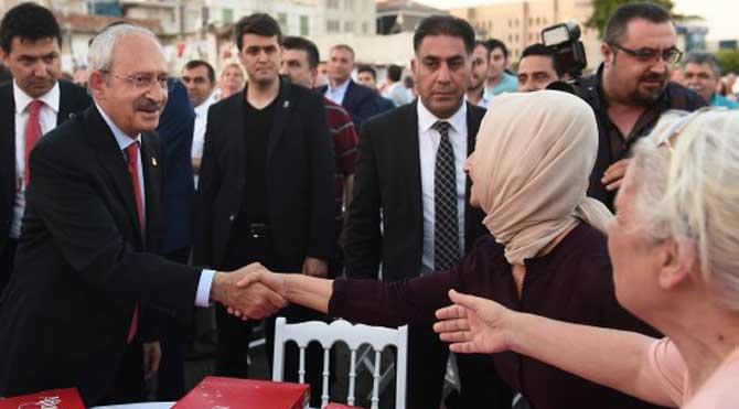 Kılıçdaroğlu'na yoğun ilgi