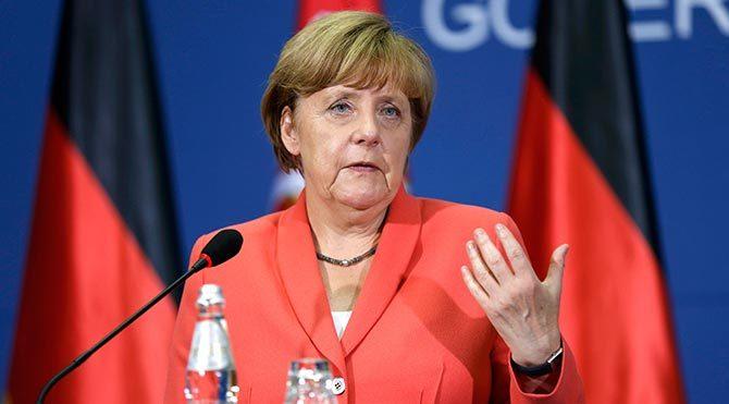 Merkel'den yardım sözü