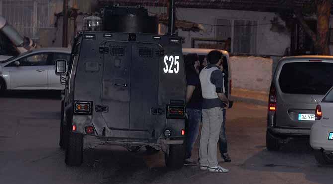İstanbul'da şafak baskını