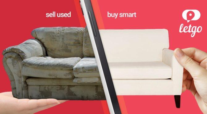 Android'de ikinci el pazarı Letgo